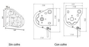 Toldo maxiscreen-box dimensiones